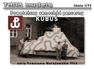 KUBUŚ - TANK models 1/72
